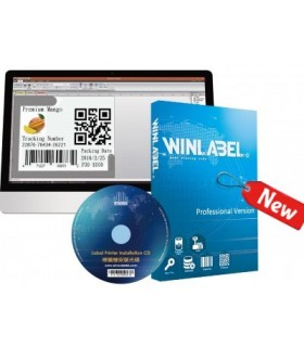 Winlabel PRO - Λογισμικό σχεδιασμού για κάθε εκτυπωτή (Κείμενα, Barcode, Logo, κ.α.) - Άδεια για 1 PC